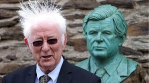 Seamus Heaney read a poem as part of a celebration to mark the 50th anniversary of John F Kennedy's visit to Wexford earlier this year