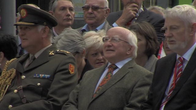 President Higgins leads State Commemoration of 1913 Dublin Lockout 100 years after it began