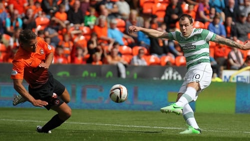 Anthony Stokes has been in good form at his club Celtic