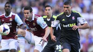 Jon Walters helped Stoke to a valuable away win