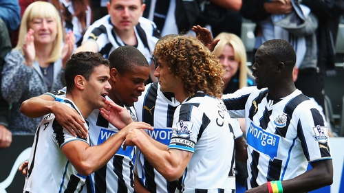 Ben Arfa's spectacular goal saw Newcastle bag the three points
