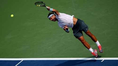 Rafael Nadal eased into the fourth round in New York