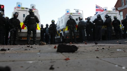 Decision to restrict flying of Union Jack at Belfast City Hall on designated days in line with rest of UK on public buildings has sparked loyalist rioting since late last year