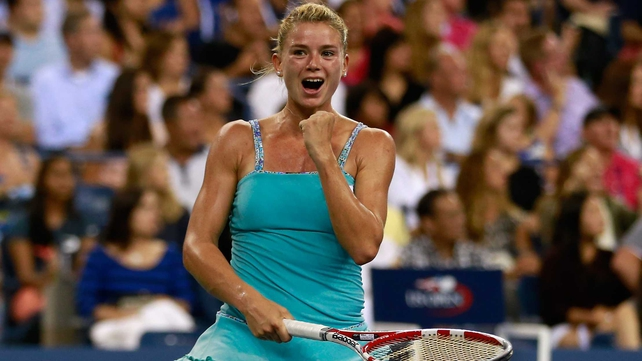 World number 136 Camila Giorgi had too much class for her Danish opponent