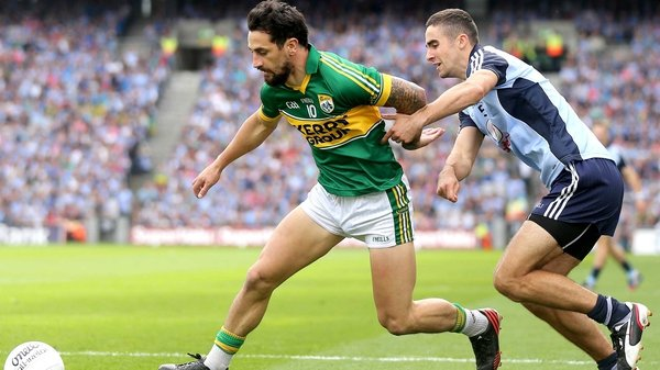 Paul Galvin appears to have played his final game for Kerry