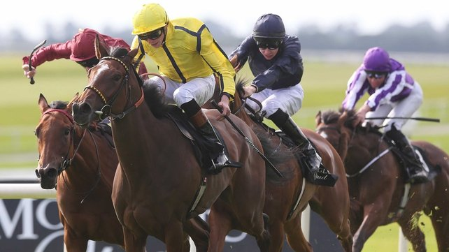 Rizeena proved her affinity for the Curragh when taking last season's  Group One Moyglare Stud Stakes at the the track
