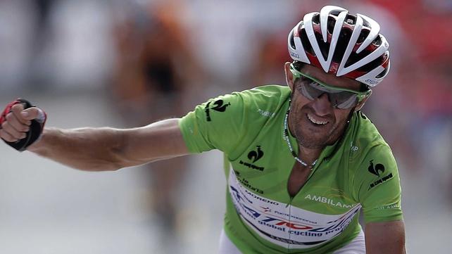 Dani Moreno leads La Vuelta