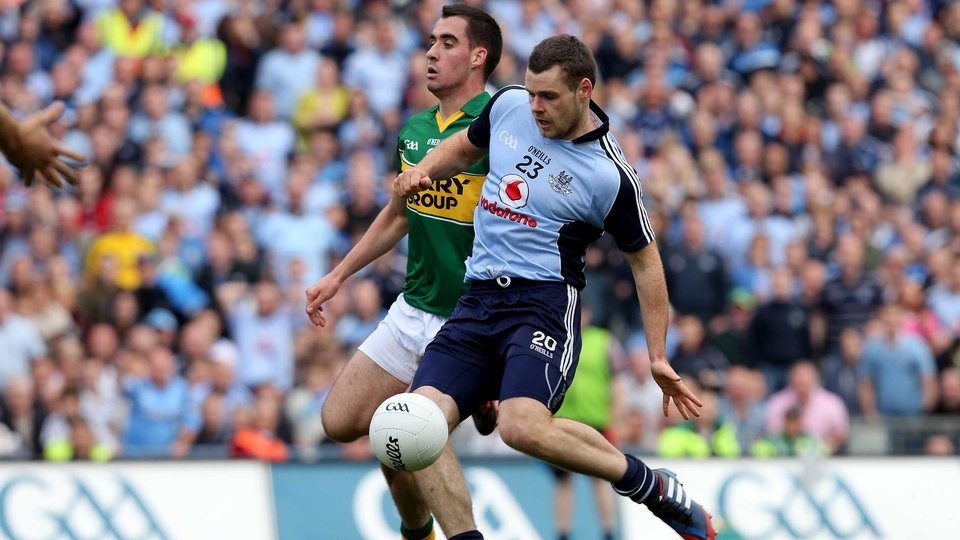 Kevin McManamon scores Dublin's crucial second goal