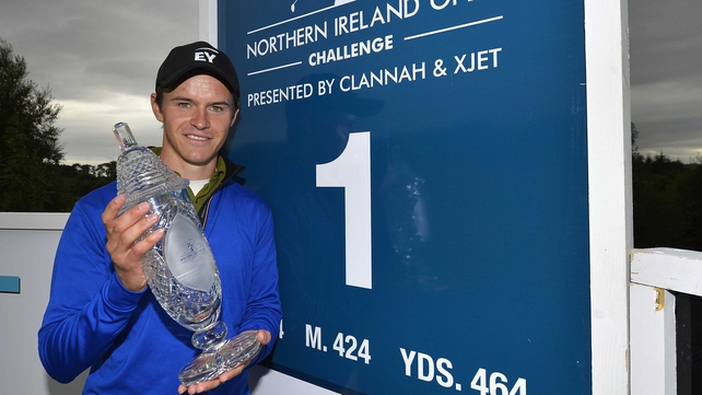 Daan Huizing won the Northern Ireland Open Challenge after a play-off