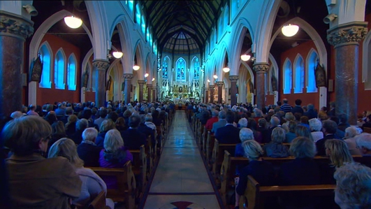 Seamus Heaney Funeral Mass