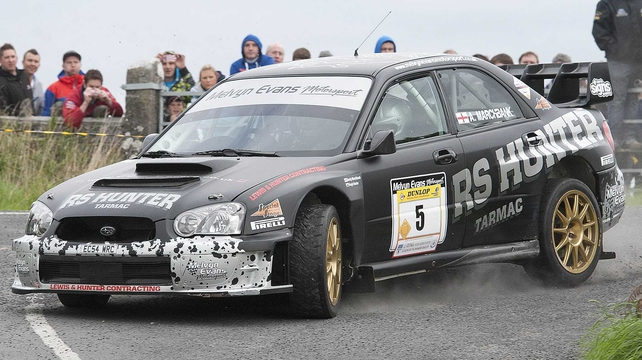Hugh Hunter proved too fast for the field in Galway