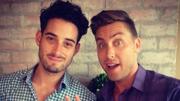 Lance Bass and Michael Turchin engaged