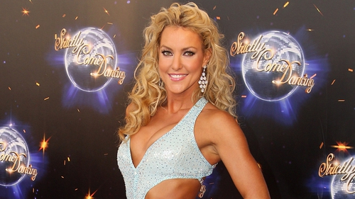 Natalie Lowe - out of this year's Strictly