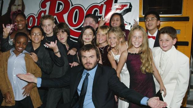 The School of Rock class back in 2003