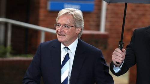 William Roache formally denied the charges this morning