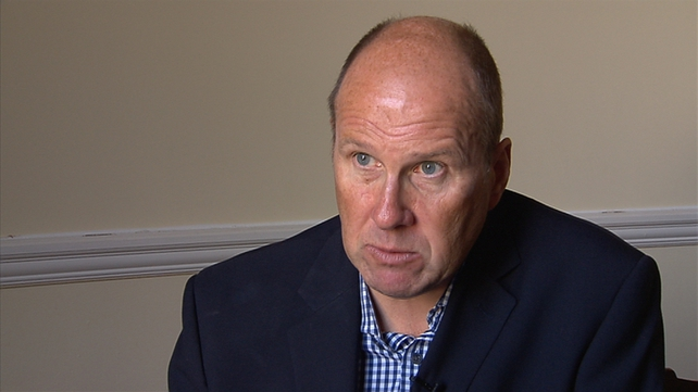 Ivan Yates said he felt shame over his bankruptcy experience