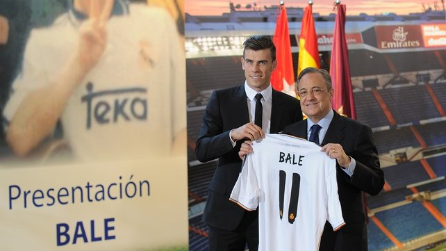 Gareth Bale is a Real Madrid player, finally