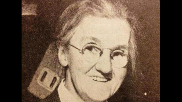 Rosie Hackett was honoured for her role in the 1913 Lockout and the 1916 Rising