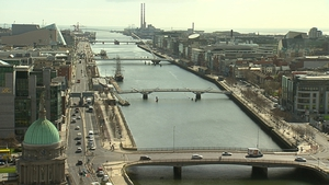 The survey highlighted differing opinions regarding safety on opposite sides of the Liffey