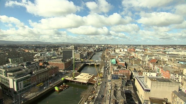 The three most recent bridges over the Liffey were named after men