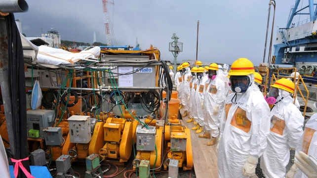 Concerns are rising over radiation leaks at the stricken Fukushima nuclear plant
