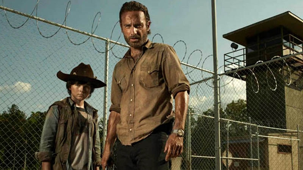 The Walking Dead season four begins on Fox on Friday October 18