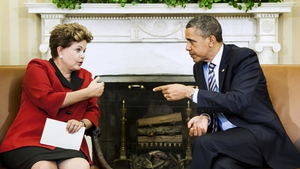 Brazilian President Dilma Rousseff is due to meet US President Barack Obama in Washington next month
