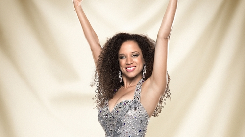 Natalie Gumede is recovering after fainting in Strictly set