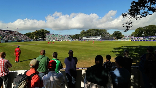 A crowd of 10,000 attended Malahide last year for Ireland's game with England