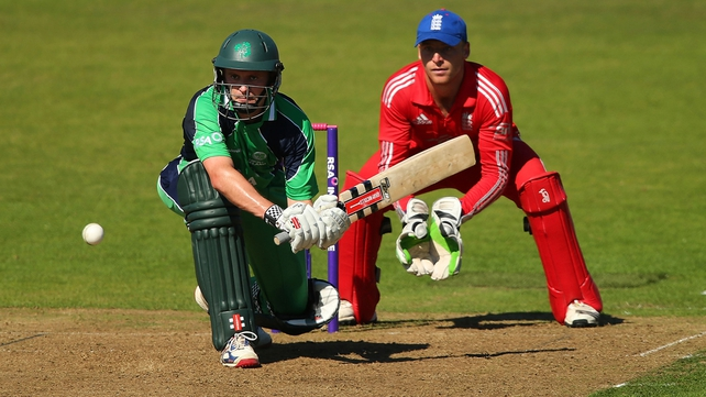 William Porterfield top scored for Ireland with 112