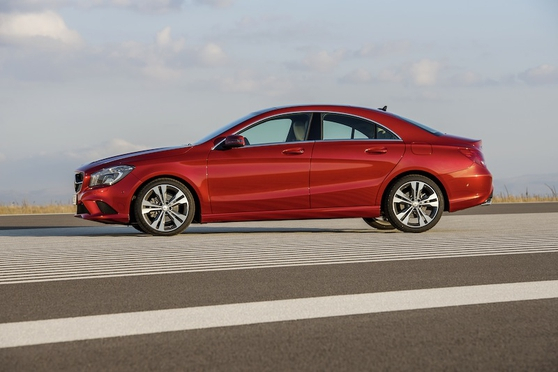 There are enough creases, dips and bulges in CLA's skin to give panel-beaters nightmares