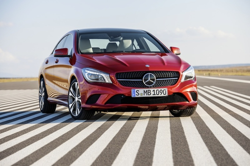 The freshly styled CLA will bring younger buyers to Mercedes-Benz