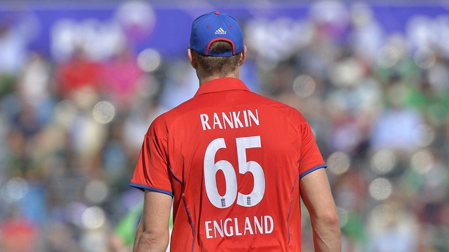 Former Irish player Boyd Rankin had figures of 46-4 on his ODI debut for England
