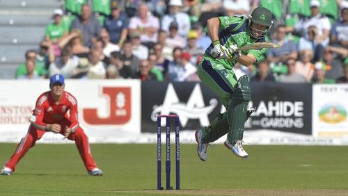 Ed Joyce is hoping to help Ireland earn Test status