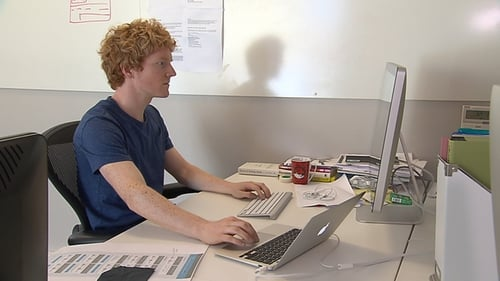 "Patrick Collison and his brother John are names as two people ""reinventing the world right now"""