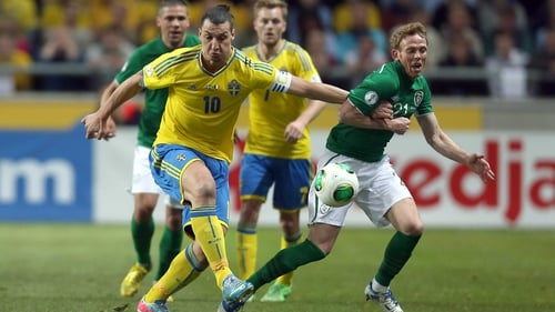 Zlatan Ibrahimovic poses a huge threat to Irish hopes of victory