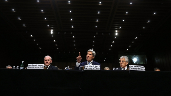 John Kerry said it would be 'preferable' not to preclude the use of ground troops