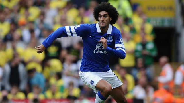 Marouane Fellaini could make his Red Devils debut against Crystal Palace