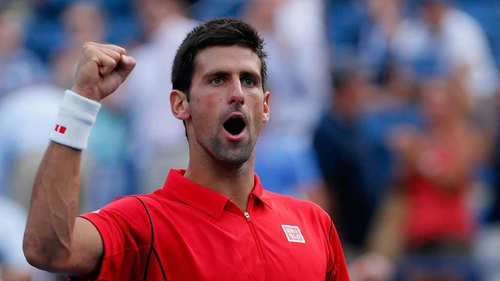 Novak Djokovic was a resounding winner against Marcel Granollers