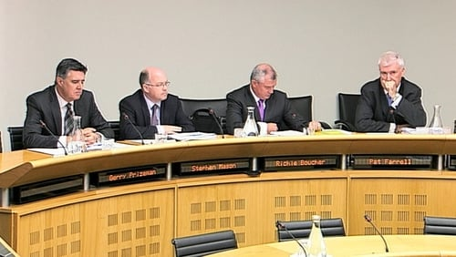 Bank of Ireland bosses appeared before the Oireachtas Finance Committee today