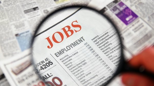 The CSO says the standardised unemployment rate eased to 12.5% in November from 12.6% in October