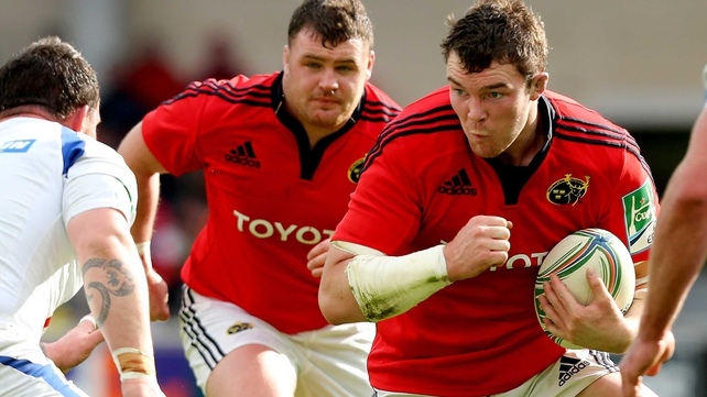 Peter O'Mahony is one of three nominees for the player of the year prize
