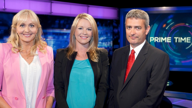 David McCullagh joins Miriam O'Callaghan and Claire Byrne as presenters