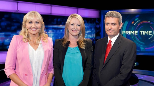 Miriam O'Callaghan, Claire Byrne and David McCullagh