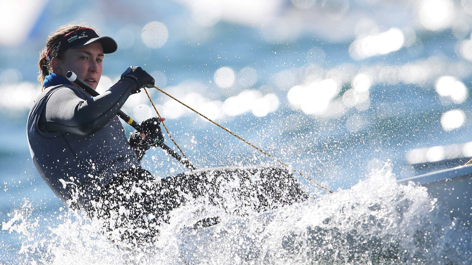 Annalise Murphy won the Laser Radial European title in Dublin