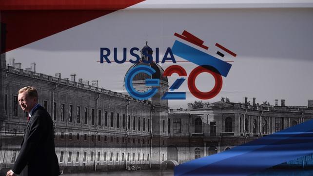 St Petersburg is hosting a G20 summit