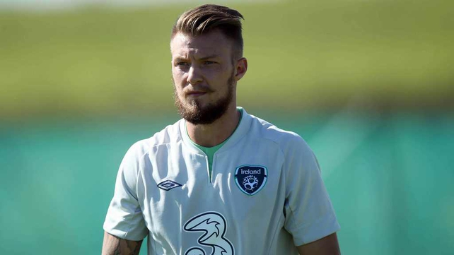 Anthony Pilkington is set for his Ireland debut tomorrow