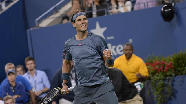 Rafael Nadal is through to the semi-finals