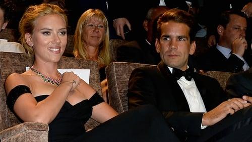 Scarlett Johansson and Romain Dauriac at the Venice Film Festival
