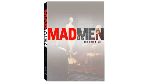 Mad Men series five boxset to giveaway